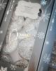 8 db.os exclusive gyertya / Ezüst