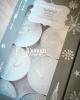 8 db.os exclusive gyertya / Fehér