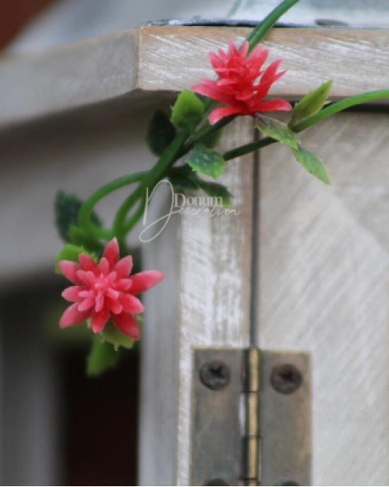 210 cm. virágfüzér