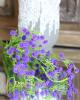 Műanyag virágcsokor / Lila