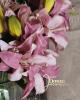 Liliomszál - 2 virágfejes/Pasztellmályva