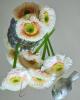 Virágfej szárral / Törtfehér narancsosbarack antikolással